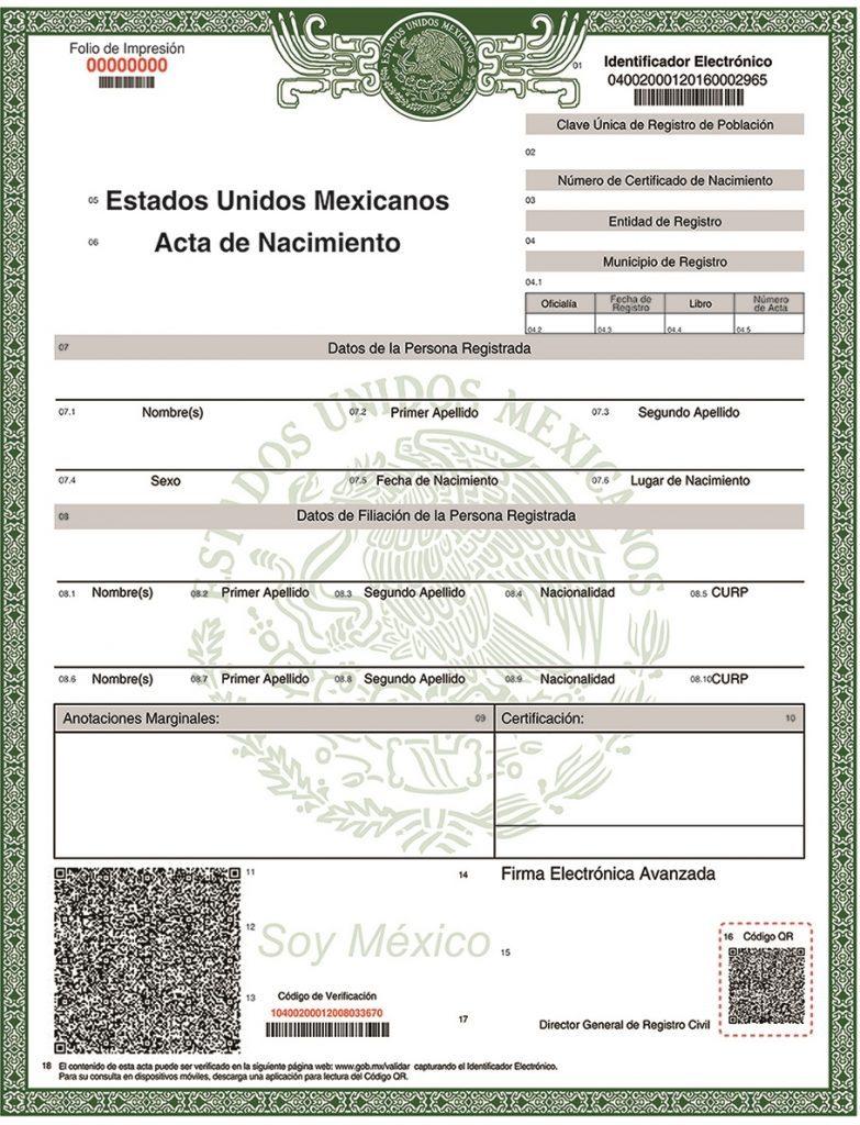 acta de nacimiento archivos ⋆ uruapan michoacán méxico